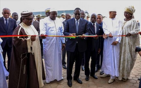 Macky Sall a inauguré l'Aéroport international Blaise Diagne (AIDB)