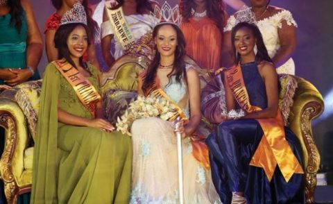 Belinda Potts Crowned Miss Zimbabwe 2018