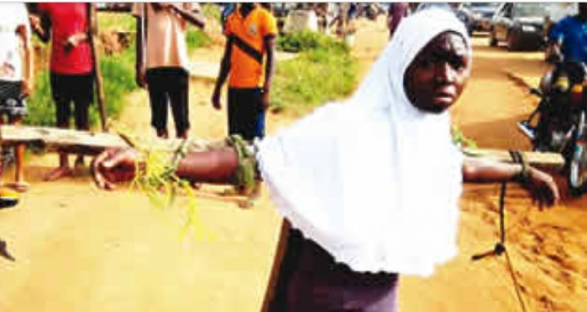 Nigerian students tied to crucifixes and beaten for coming late to school