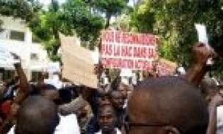 Guinee: La marche de colère de la presse guinéenne contre la haute autorité de la communication HAC