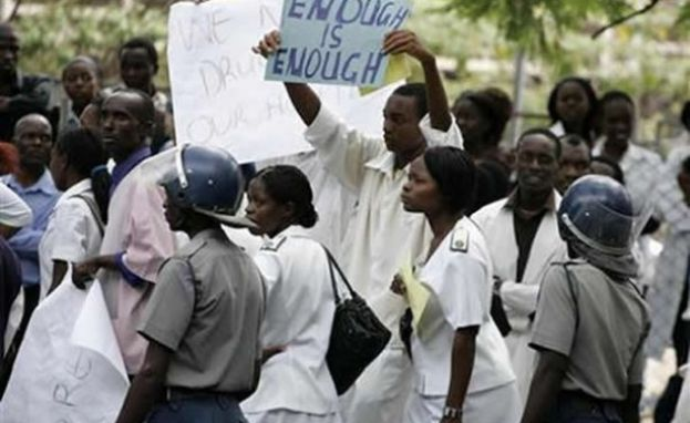 Zimbabwe Government Fires All Striking Nurses